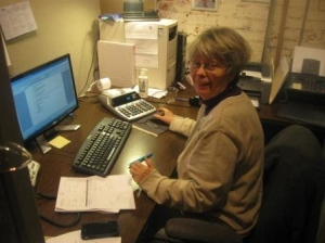 Judy Taylor, Bookkeeper